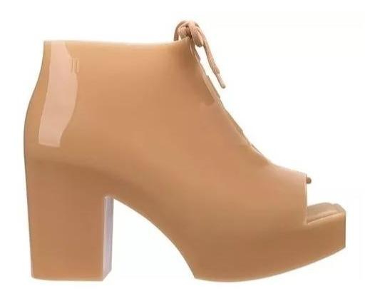 Melissa Wonder Bege Nude 33/34 Salto Plataforma Uncle Boot