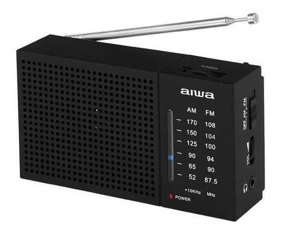 Rádio Analógico Am-fm De Bolso - Aiwa
