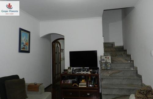 Sobrado A Venda No Bairro Jardim Tremembé Em São Paulo - - 348ri-1