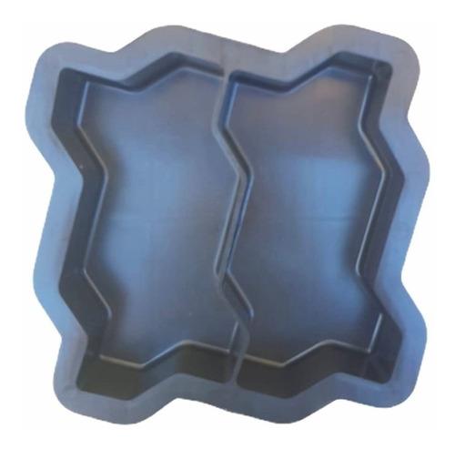 Forma Plastica Concreto Bloquete Piso Intertravado 16 Faces
