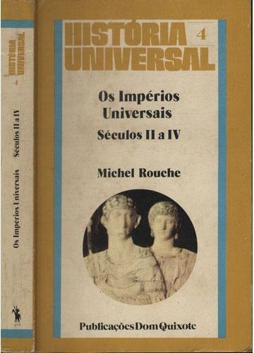 Os Impérios Universitários - Séculos Ii A Iv