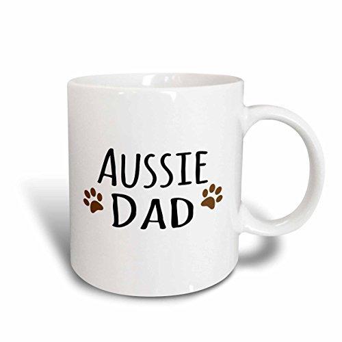 3drose Mug_153851_2 Perro Australiano Papá Pastor Austral