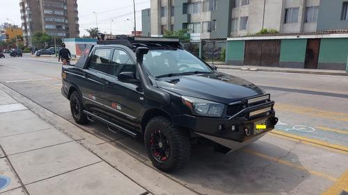Ssangyong Actyon Sports Doble Cabina 4x4 Mecánico