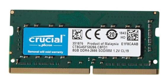 Memória 8gb 2666mhz Ddr4 Dell Optiplex 3060 Micro-p20m