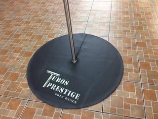 Tubo Para Pole Dance + Tapete + Guantes Super Paquete2.70m