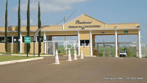 Imagem 1 de 20 de Terreno À Venda, 390 M² Por R$ 480.000,00 - Condomínio Terras Do Cancioneiro - Paulínia/sp - Te0563