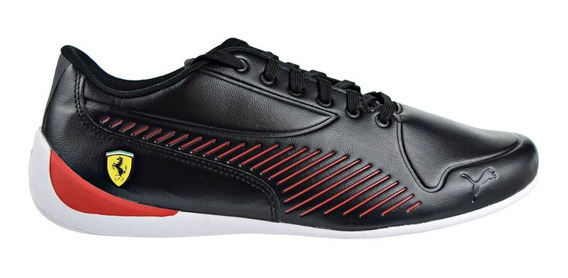 Tenis Puma Drifcat 7s Ultra Negro Rojo Ferrari Hombre