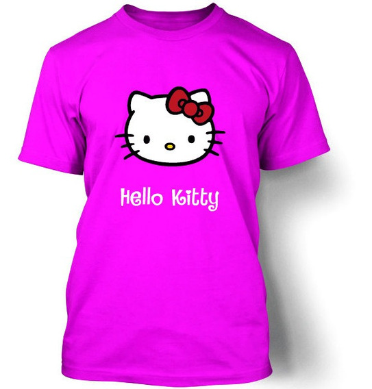 Playera Koyi 001 Hello Kitty S M L Xl 2xl 3xl Caballero