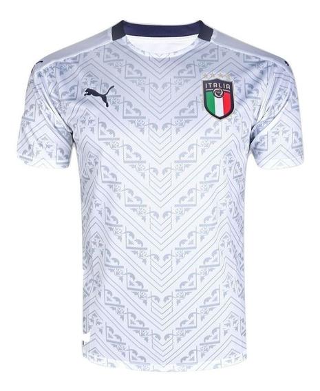 Camisa Seleção Itália S/n° Torcedor Masculino Pronta Entrega