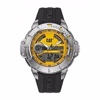 Reloj Cat Ma.155.21.731 Hombre Caucho Ana-digi Sumerg 100m
