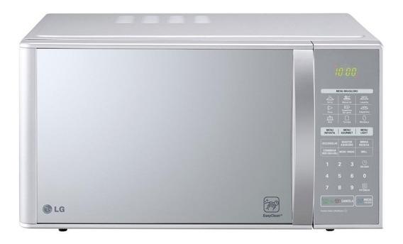 Microondas LG MH7053R(A) prata 30L 110V