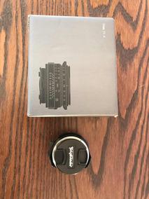 Lente Voigtlander Nokton 35mm 1.4 Sc Leica