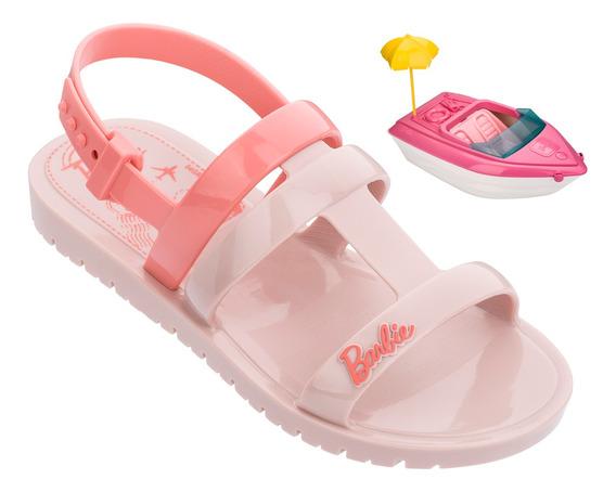 Sandalia Grendene Barbie Iate 08/2019 22002 Rosa/rosa