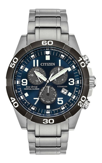 Citizen Bl5558-58l Reloj Para Hombre, Eco-drive, Titanio