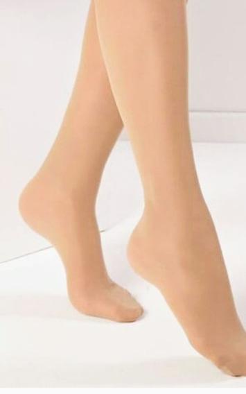 Medias Panty Cancán Especial Premium Danza Nena C/pie .