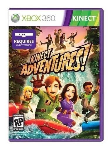 Jogo Kinect Adventures Mídia Física Xbox 360 Frete Grátis