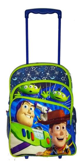 Mochila Escolar Infantil Toy Story De Rodinhas Disney