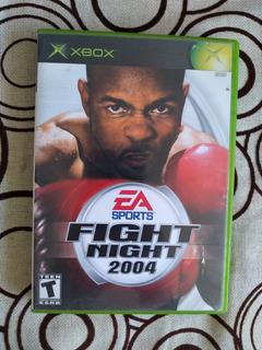 Fight Night 2004 Original Para Xbox Clásico