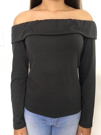 Blusas Modernas Hombros Descubierto Off Shoulder Dama
