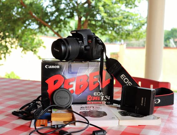 Canon Eos Rebel T5i Kit Ef-s 18-55mm Is Stm