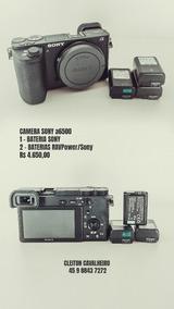 Camera Sony 6500