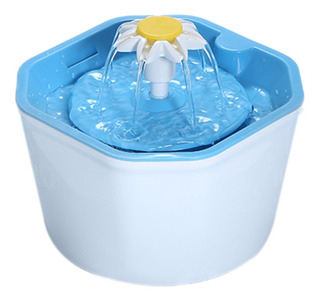 Fuente Agua Para Automática Bebedero Eléctrico Mascotas 1.6l