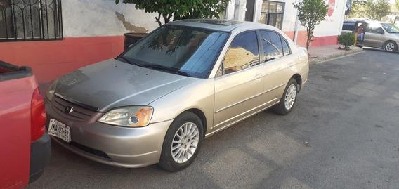 Honda Civic 1.7 Ex At 2002