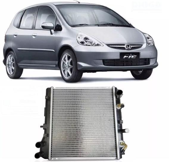 Radiador Honda Fit 1.4, 1.5 16v 2003 Até 2008 Automático
