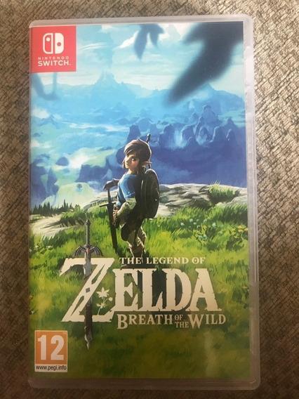 Zelda Breath Of The Wild. Nintendo Switch. Midia Fisica!