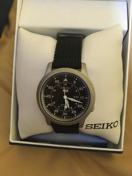 Seiko Snk809 Negro Automático Envío Gratis