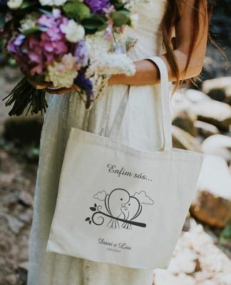 Ecobag Bolsa Personalizada Casamento Aniversário 15 Anos Etc