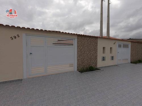 Imagem 1 de 15 de Casa À Venda, 90 M² Por R$ 280.000,00 - Jardim Aguapeu - Mongaguá/sp - Ca5220