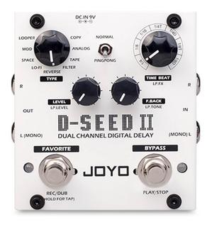 Pedal Guitarra Delay Joyo D-seed 2 Mejorado Looper