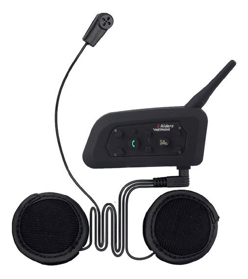 Intercomunicador Bluetooth Kit Manos Libres Casco Moto Modelo Nuevo