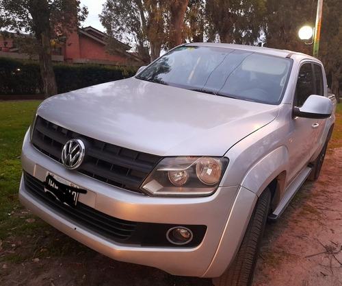 Imagen 1 de 10 de Volkswagen Amarok 2010 2.0 Cd Tdi 4x4 Highline Cuero 1hc
