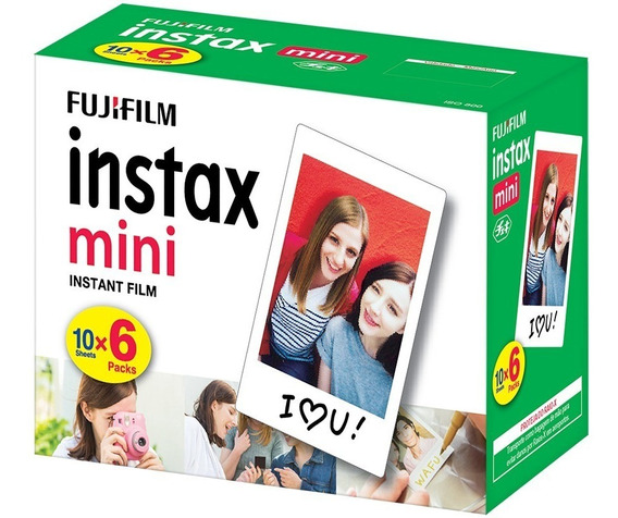 Filme Instantâneo Fujifilm - Instax Mini Com 60 Poses N/f