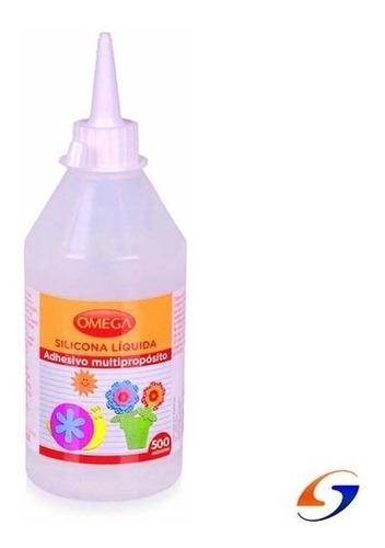 Imagen 1 de 3 de Adhesivo Silicona Liquida  Omega 250ml. Serviciopapelero