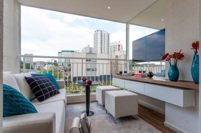Apartamento Em Campo Belo, São Paulo/sp De 35m² 1 Quartos À Venda Por R$ 360.000,00 - Ap23994