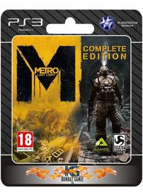 Metro Last Light - Complete Edition -ps3- (digital) *