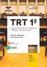 Apostila Trt-rj - Técnico Judiciário Administrativo