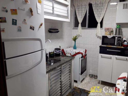 Apartamento Em Santos Localizado No 1 Andar. - V325