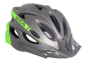 Capacete Ciclismo Bike Mtb Speed Gta Sinalizador Led Verde