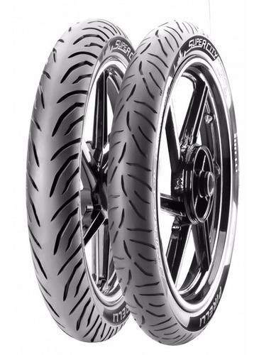 Juego Cubiertas Pirelli 80 100 14 Y 60 100 17 Honda Biz 125