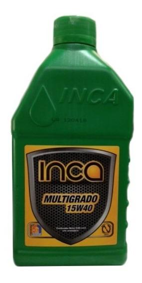 Aceite 15w40 Mineral Inca Motor Gasolina Multigrado Api Sl