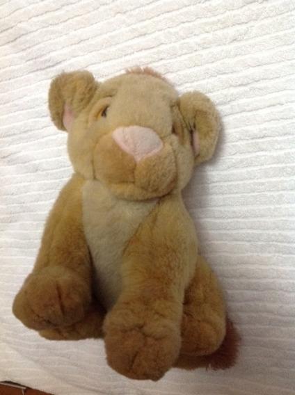 Pelucia Rei Leão Simba Baby - 25 Cm