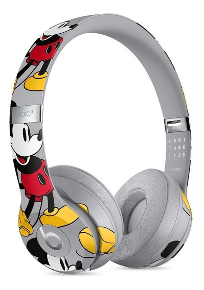 Fone Beats Disney Mickey Solo 3 Edição Limitada Aniversario