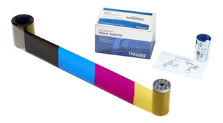Ribbon Datacard Sd160 Color - Original