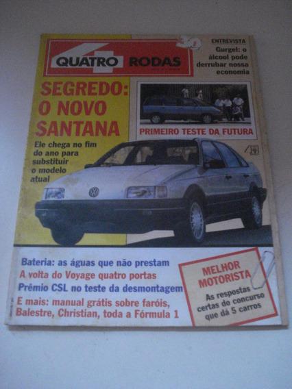 Quatro Rodas 357 Kadett Voyage Gl Prêmio Ano 1990