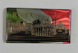 Iman Italiano Refrigerador Ciudad De Roma, 100% Original