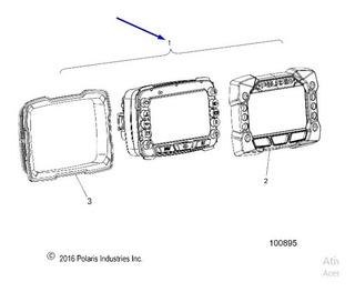 Painel De Instrumentos Velocimetropolaris Pn# 3280815